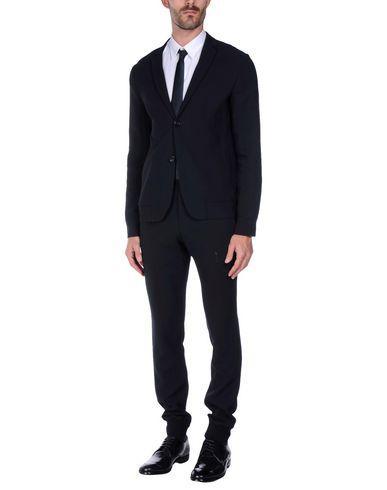 Emporio Armani Suits In Black