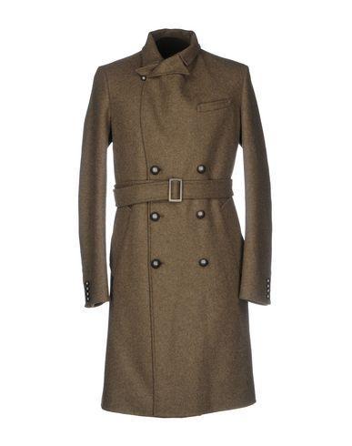 Ermanno Scervino Coat In Khaki