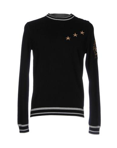 Ermanno Scervino Sweatshirts In Black