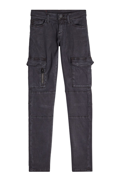 True Religion Cargo Pants With Cotton In Black
