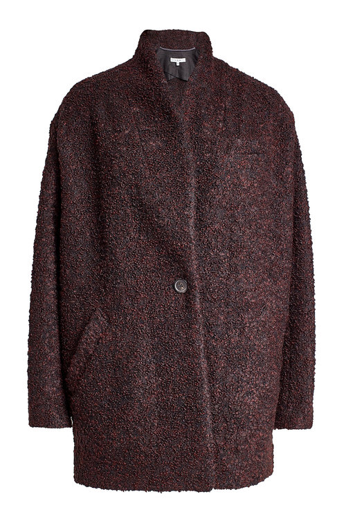 Iro Coat With Alpaca And Wool In Multicolored
