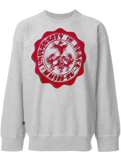 Vivienne Westwood Anglomania University Of Peace Sweatshirt In Grey
