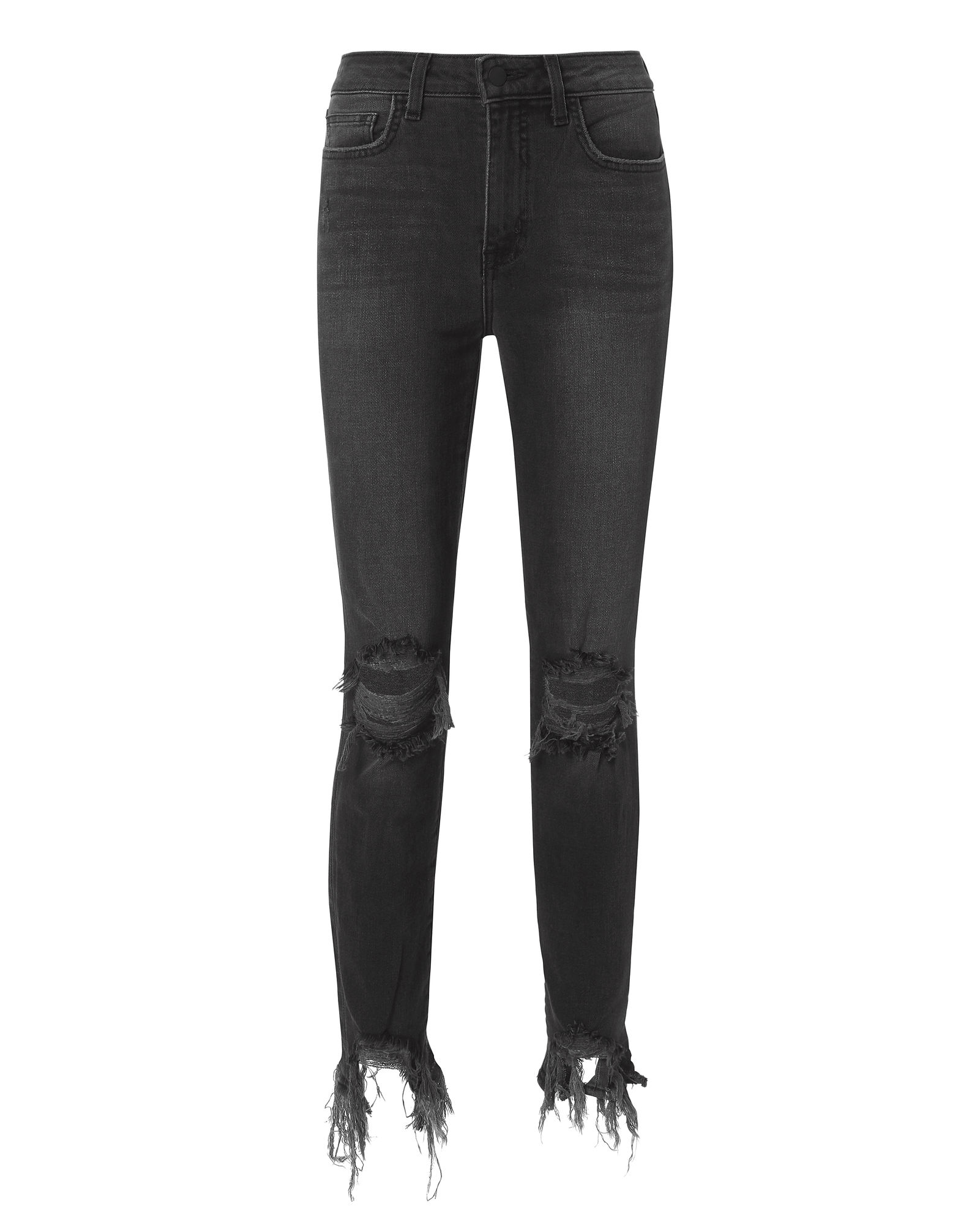 L Agence High Line Nighttime Grey Jeans