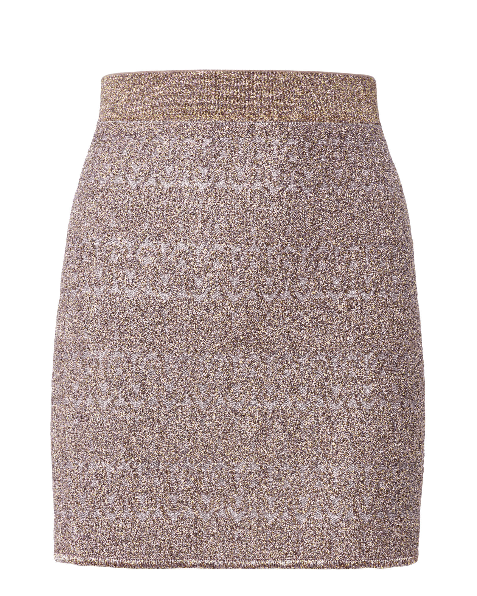 Missoni LamÉ Solid Mini Skirt