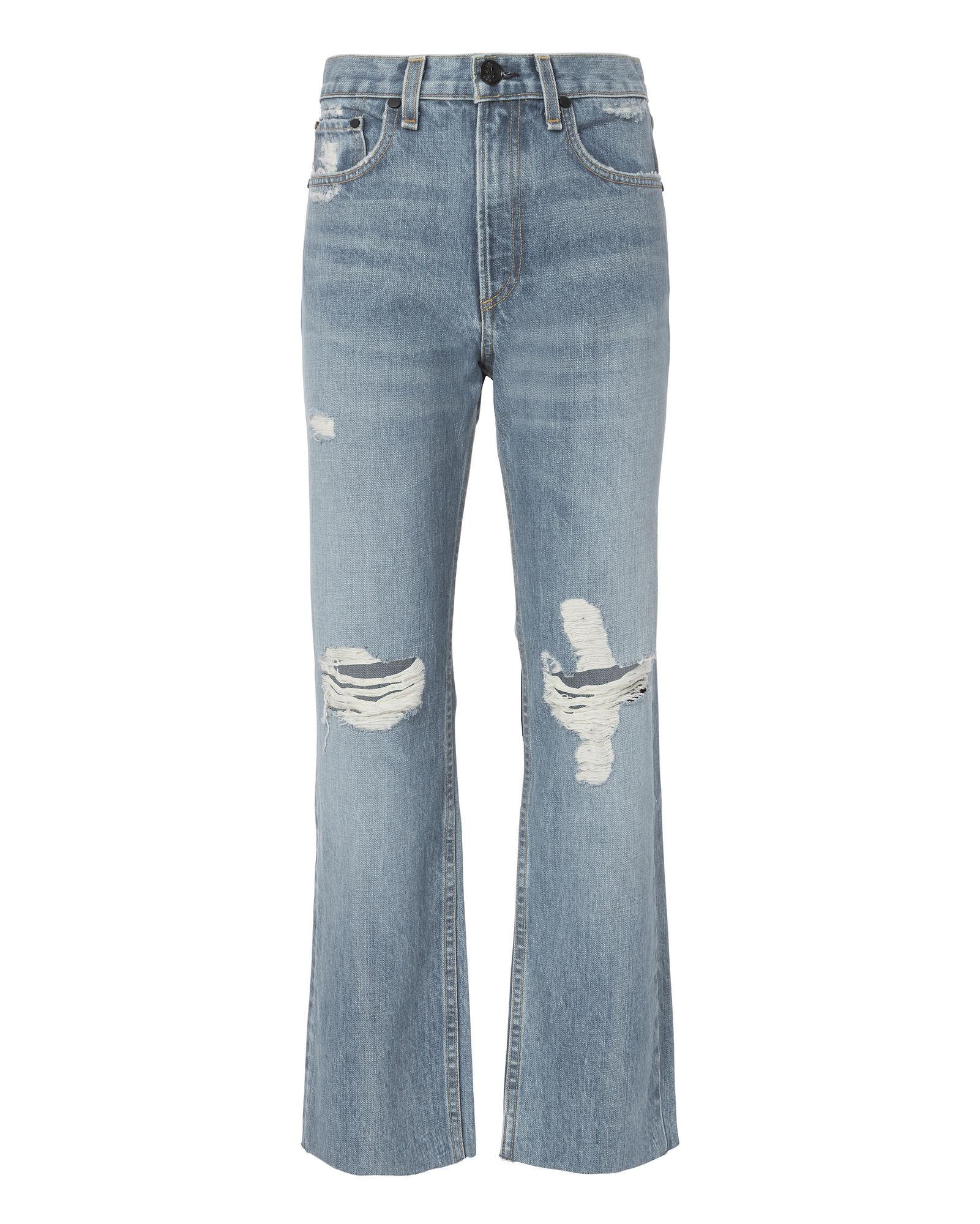 Rag & Bone Shaker High-rise Cropped Straight Jeans