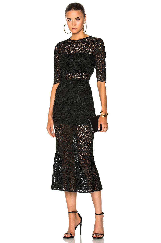 Veronica Beard Linden Dress In Black