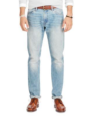 Polo Ralph Lauren Varick Slim Straight Jeans In Ellis Indigo Blue
