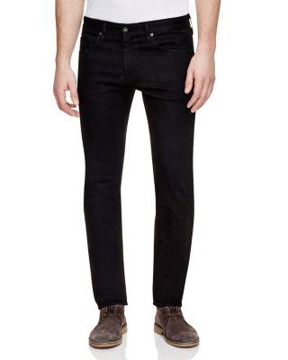 Ag Dylan Skinny Fit Jeans In Black In Blackbird