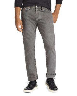 Polo Ralph Lauren Varick Slim Fit Jeans In Charcoal