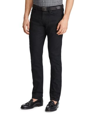 Polo Ralph Lauren Men's Sullivan Slim Stretch Jeans In Black