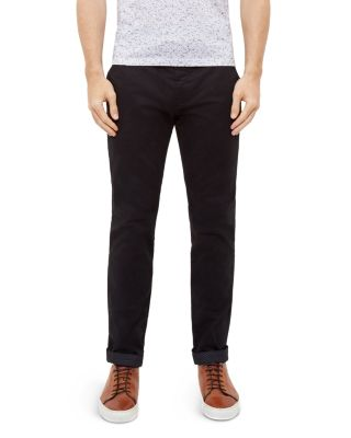 Ted Baker Procor Slim Fit Chinos In Black