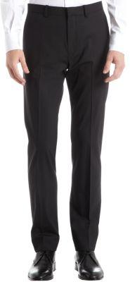 Theory Kody 2 New Tailor Suit Pants, Black