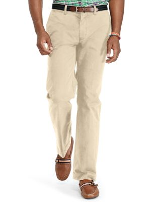 Polo Ralph Lauren Stretch Classic Fit Chino Pants In Khaki