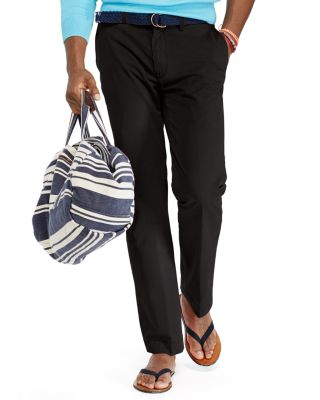 Polo Ralph Lauren Stretch Classic Fit Chino Pants In Black