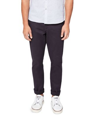 Ted Baker Clascor Classic Fit Chinos In Navy