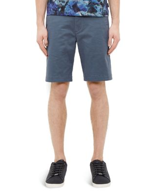 Ted Baker Chino Shorts In Teal