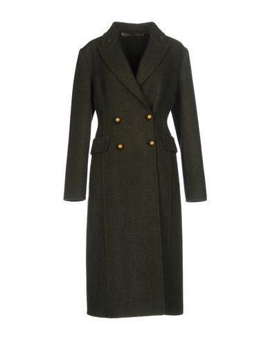 Ermanno Scervino Coat In Military Green