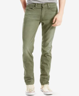 Levi's 511 Slim Fit Performance Stretch Jeans In Timberline Twill