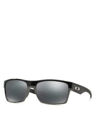 Oakley Two-face Sunglasses, 64mm In Black