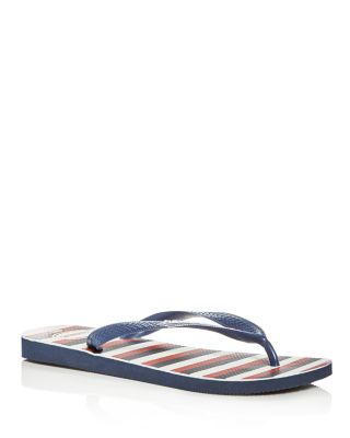 7c91e60434ee73 Havaianas Havainas Top Mix Usa Flag Flip Flop In Navy Blue