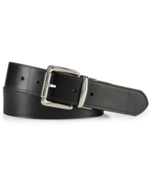Polo Ralph Lauren Men's Accessories, Reversible Leather Belt In Brown/Black