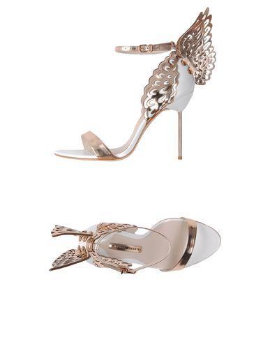 Sophia Webster Sandals In Copper