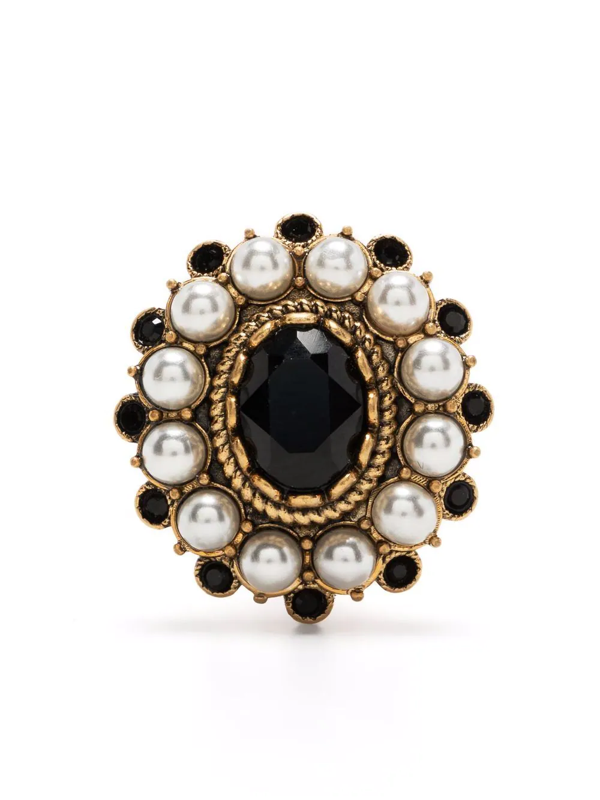 Dsquared2 Single Embellished Earring In Gold