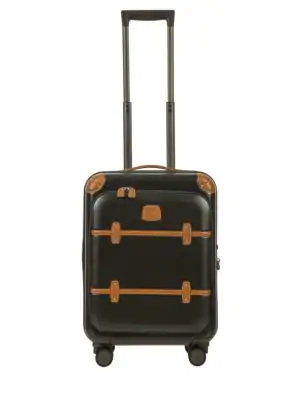 """Bric's Bellagio 21"""" Carry-on Spinner Trunk In Black"""