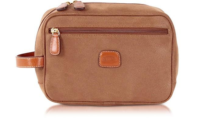 Bric's Life - Camel Micro Suede Travel Case