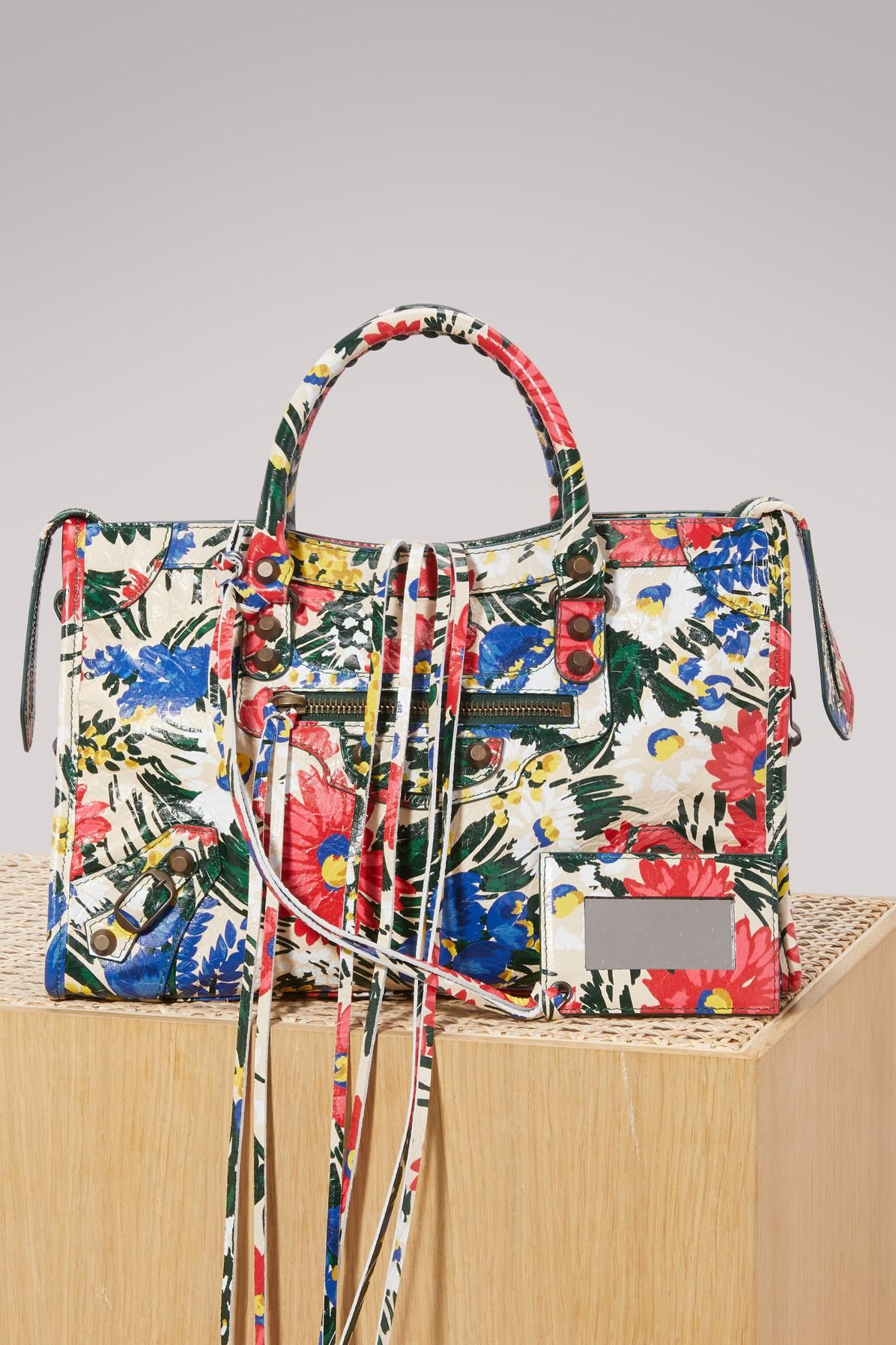Balenciaga Classic City Flower Handbag