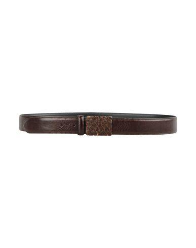 Eleventy Belts In Dark Brown