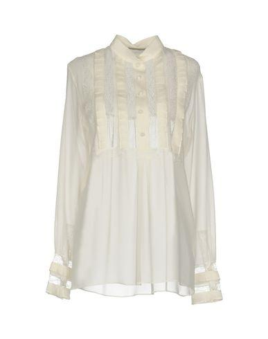 Ermanno Scervino Shirts In Ivory