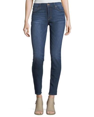 Joe's Jeans Sooo Soft Mid Rise Skinny In Malee In Medium Blue