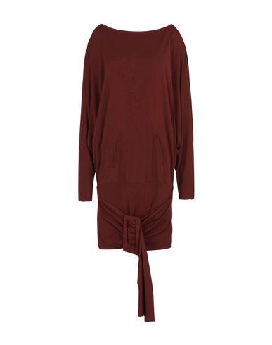 Jean Paul Gaultier Short Dress In Maroon
