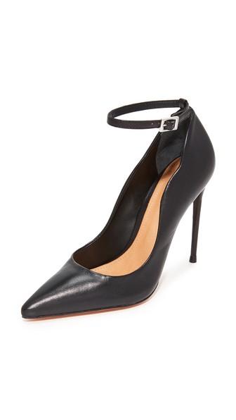 dc7467dd887 Thaynara Ankle Strap Pointed Heels in Black