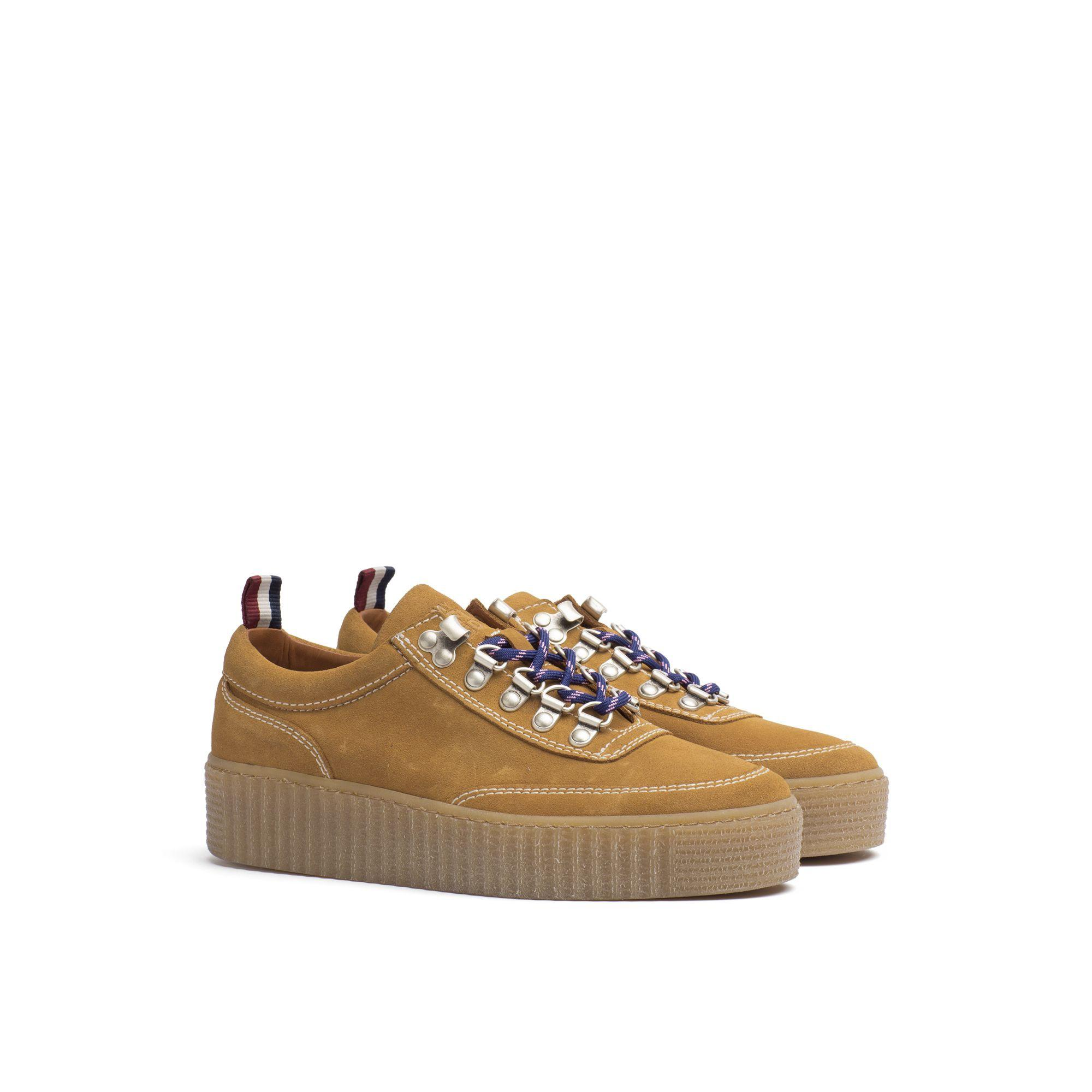 a68ee8b042c2 Tommy Hilfiger Suede Creeper - Spruce Yellow