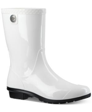 f211b1db743 Women's Sienna Mid Calf Rain Boots in White