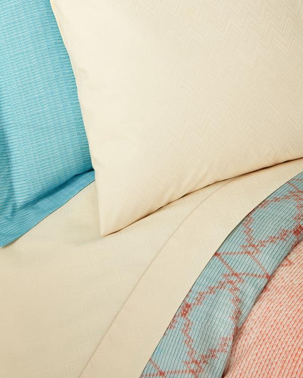 Missoni Pair Of Jo Standard Pillowcases In Blue