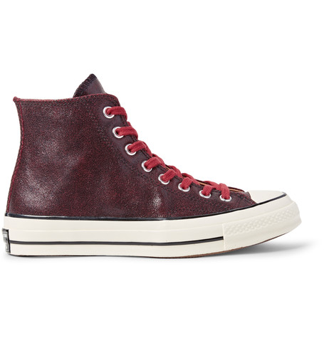cbd3c603d335 Converse 1970S Chuck Taylor All Star Textured-Leather High-Top Sneakers In  Brick