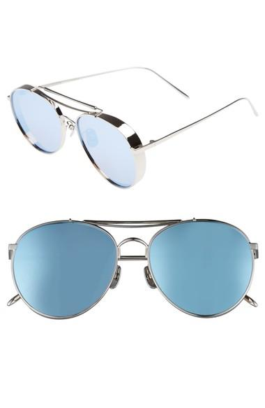 7484be566c Polished metal frames and mirrored teardrop lenses further the retro appeal  of classic shades with weekend-ready style. Style Name  Gentle Monster Big  Bully ...