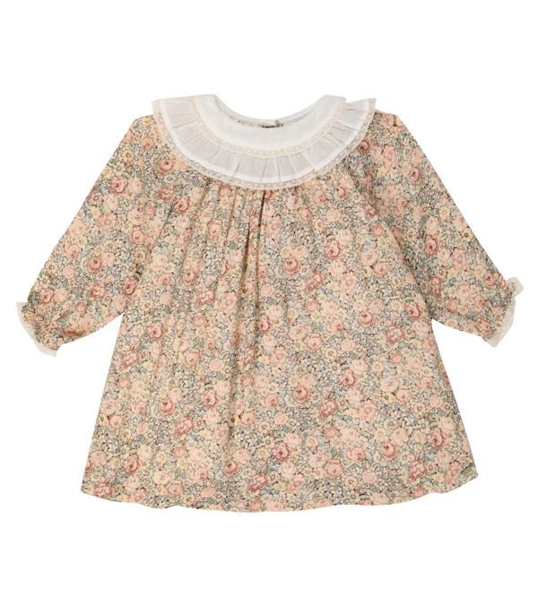 Tartine Et Chocolat Babies' Kids Dress For Girls In Pink