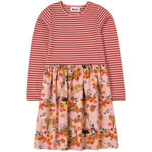 Molo Kids Dress Credence For Girls In Orange