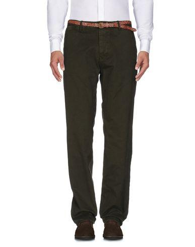 Scotch & Soda Casual Pants In Military Green