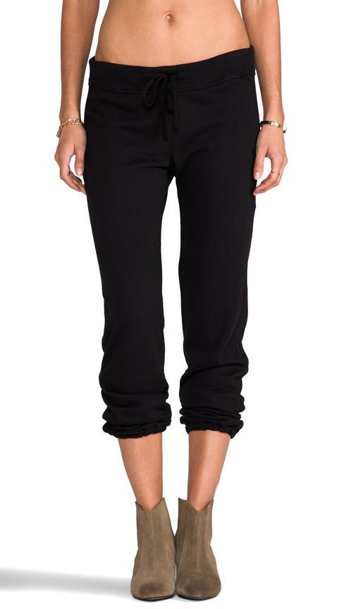 6c398096c052 James Perse Vintage Cotton Genie Pant In Black