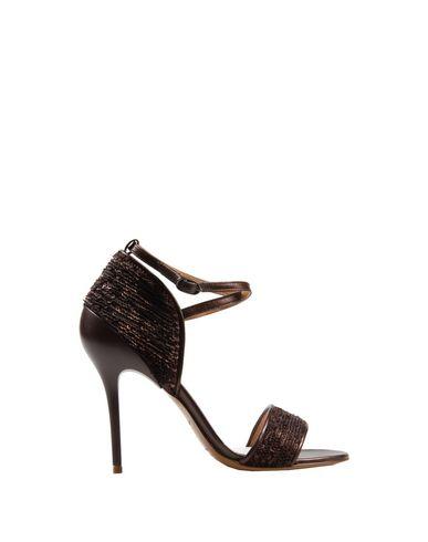 Maison Margiela Sandals In Cocoa