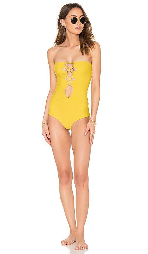 Acacia Swimwear Bronx One Piece In Pineapple