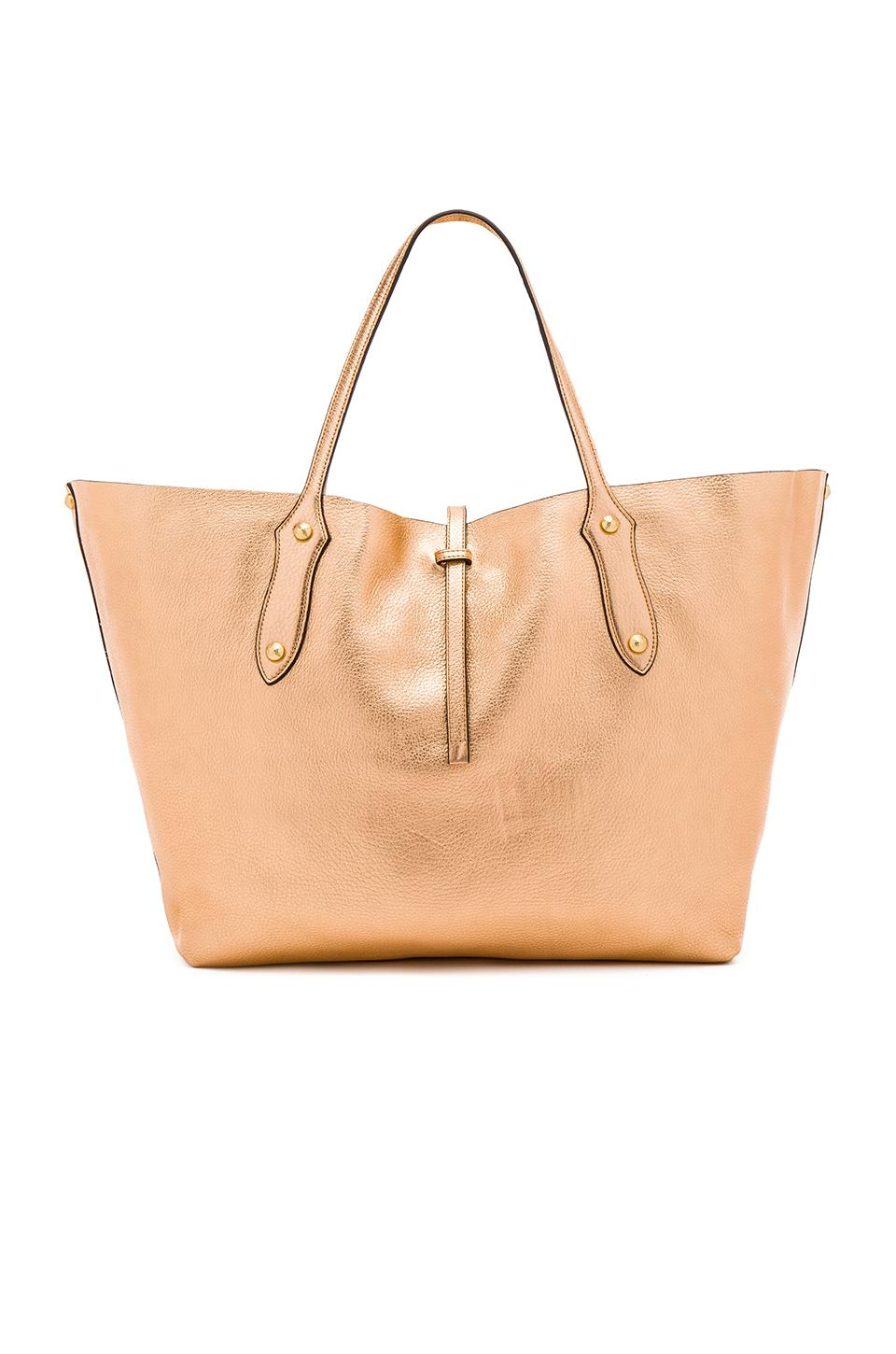 Annabel Ingall Large Isabella Tote In Champagne