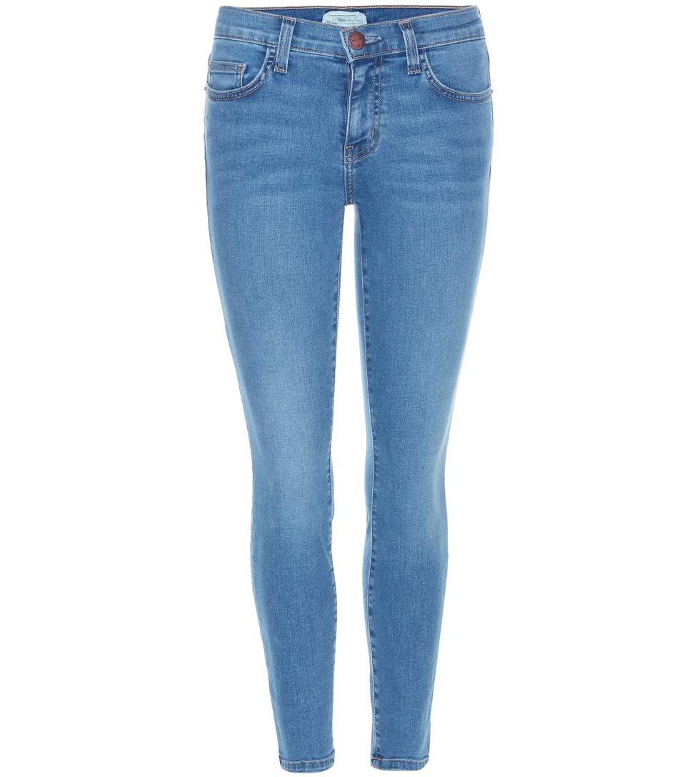 Current Elliott The Stiletto Jeans In Blue
