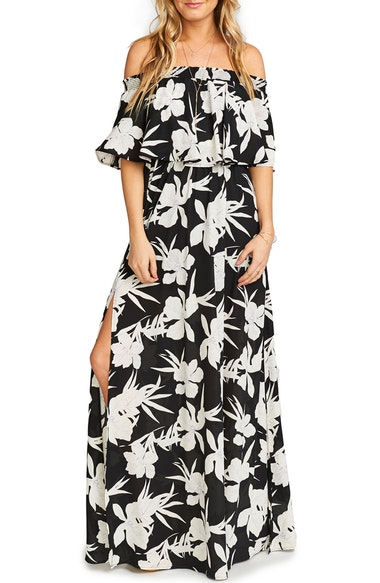 c91451d0671803 Show Me Your Mumu Hacienda Convertible Gown In Lily Collins | ModeSens