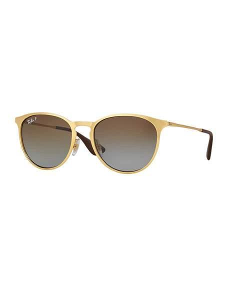 c780fa7411 Ray Ban Ray-Ban Polarized Erika Metal Sunglasses